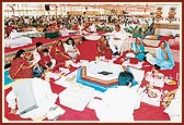 1570 couples participated in the Yagna for World Peace