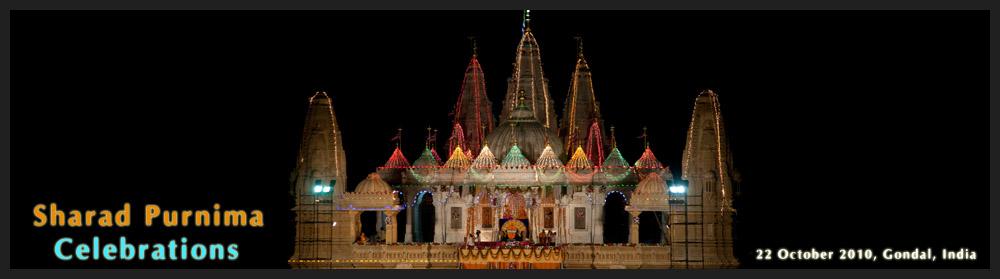 Janmashtami Celebration, BAPS Swaminarayan Mandir, Bhavnagar: www.swaminarayan.org/news/2010/10/sharadpurnima/index.htm
