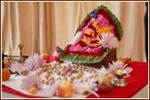 News of baps luton murti pratishtha sunday 9 may 2004 for Annakut decoration ideas