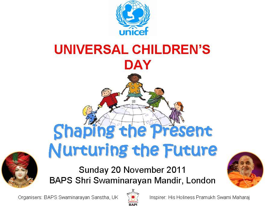 Observing Universal Children's Day
