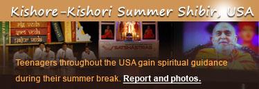 Kishore-Kishori Summer Shibir, USA