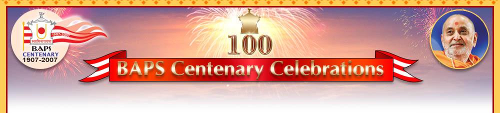 News of BAPS - BAPS Centenary Celebration - Media Info